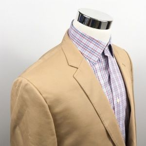 Ludlow Two Button Jacket Crespi Italy